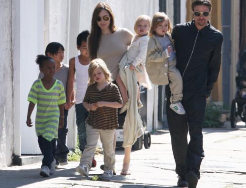 Jolie-Pitt and Custody In A Divorce