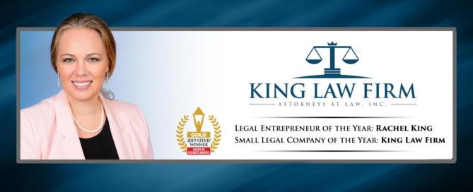 American Business Awards Stevie Gold Winner Entrepreneur Legal Company