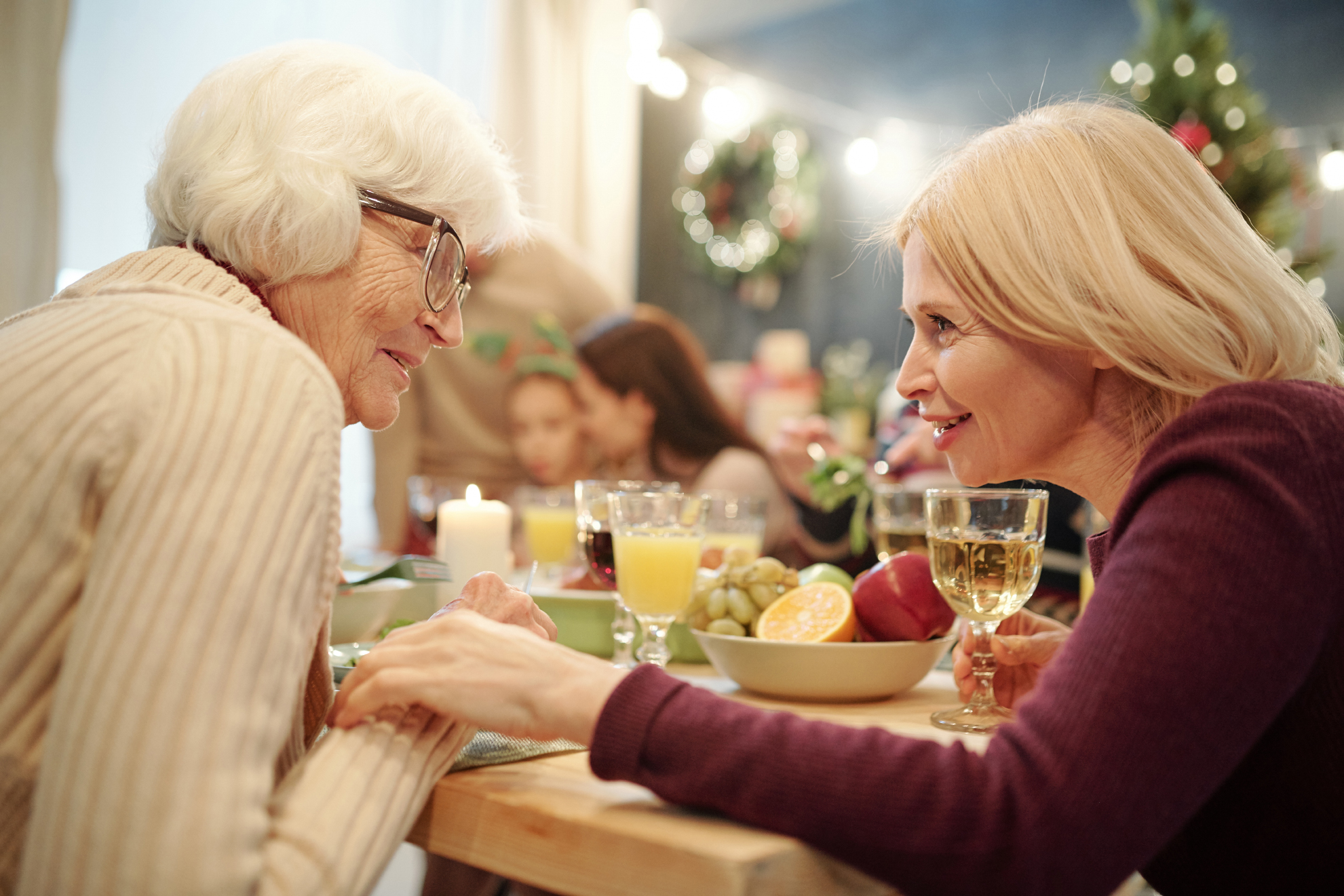 holiday conversation family wills trusts adoption divorce business
