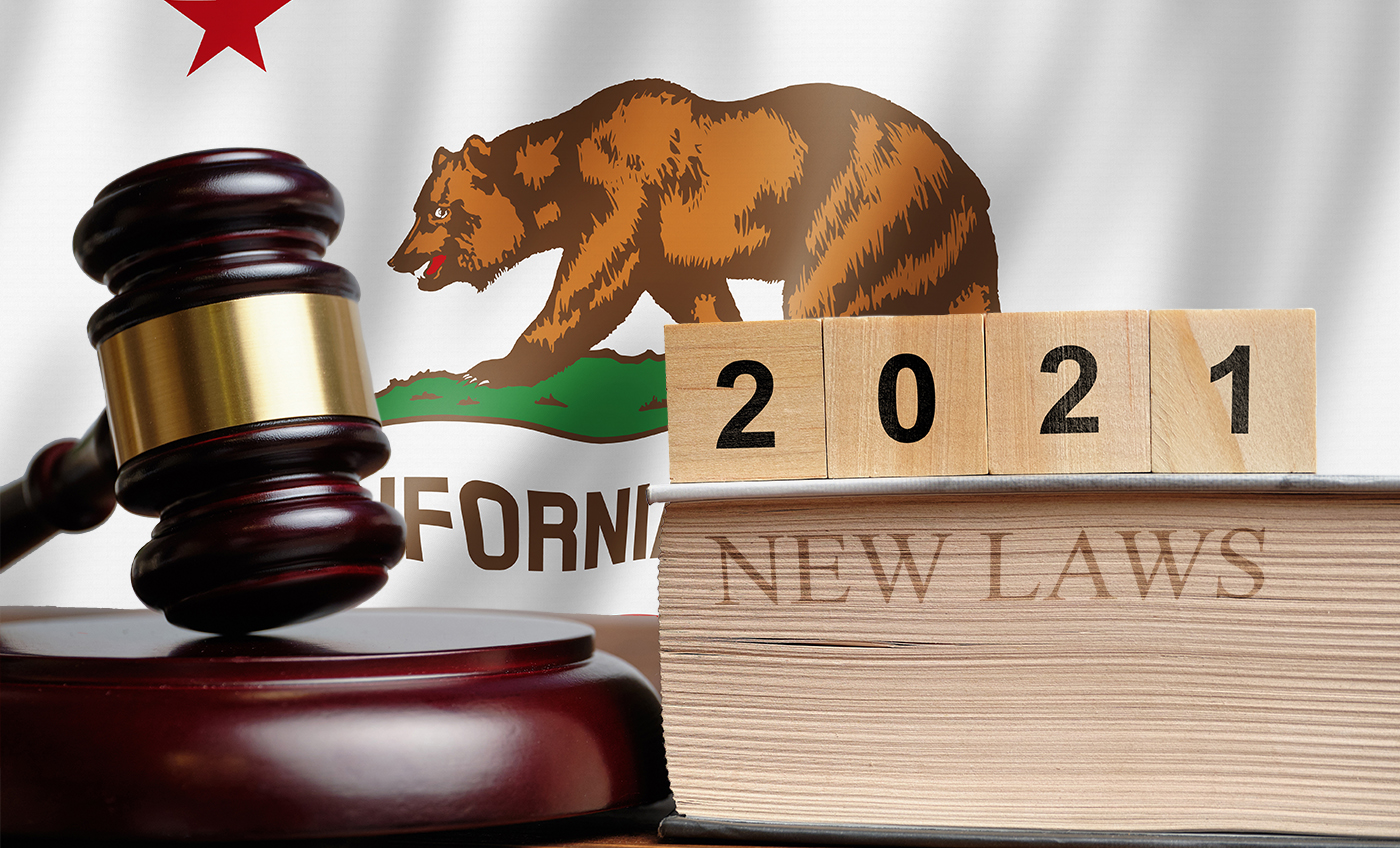 new california laws 2021 business home health COVID